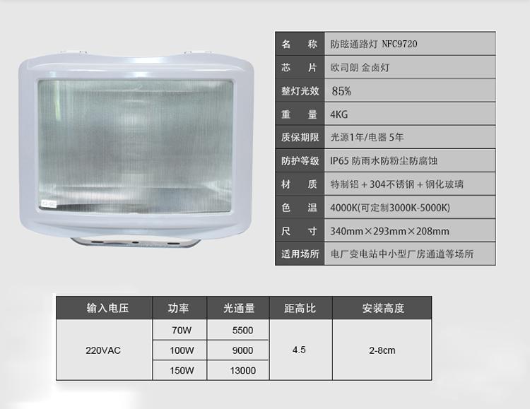 NFC9720防眩通路灯规格型号
